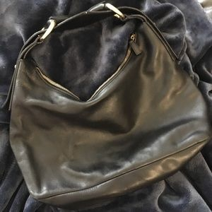 Authentic Gucci Leather Horsebit Hobo Bag